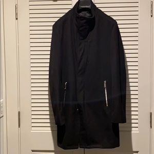Zara Long Black pea coat
